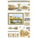 Страна Египет 517 Рисовая декупажная карта Ferrario
