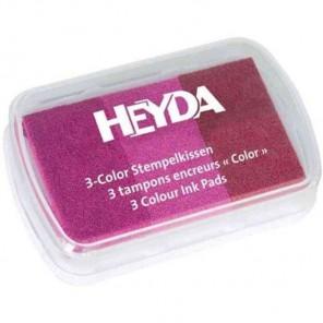 Розовые тона Штемпельная подушка Heyda