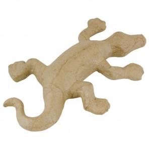 Ящерица Фигурка мини из папье-маше объемная Decopatch