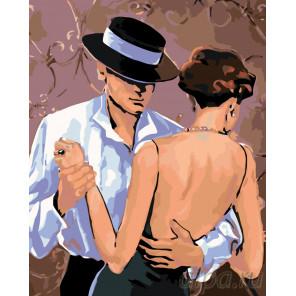 Медленный танец Раскраска по номерам на холсте Живопись по номерам RO28