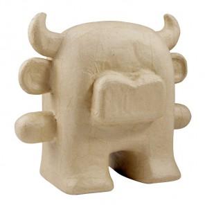 Бык-игрушка Фигурка средняя из папье-маше объемная Decopatch