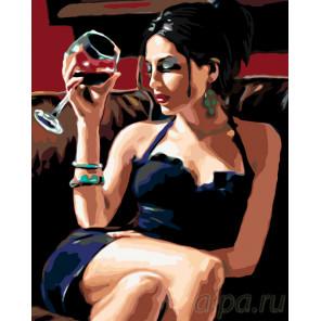 Сладкое вино Раскраска по номерам на холсте Живопись по номерам RO51
