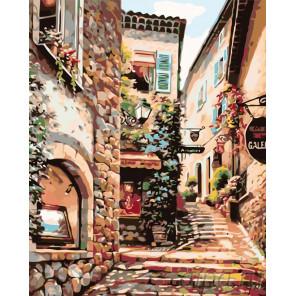 Южная улочка Раскраска картина по номерам на холсте KTMK-58818