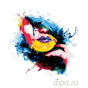 Цветное настроение Раскраска картина по номерам на холсте ARTH-ArtHobbyV