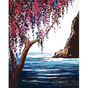 Раскладка Весна на море Раскраска картина по номерам на холсте RA222