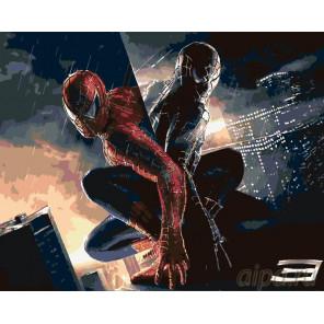 Двойственность души Раскраска картина по номерам на холсте KSRV-SPIDER11
