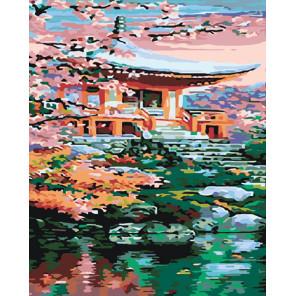 Восточный дом Раскраска картина по номерам на холсте ARTH-AH331