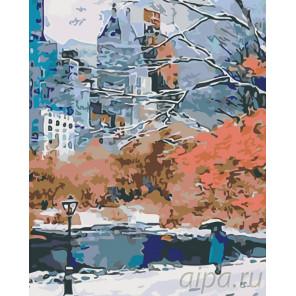 Городской парк Раскраска картина по номерам на холсте KTMK-33943-2