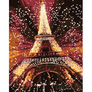 Блеск Парижа Раскраска картина по номерам на холсте KTMK-922925