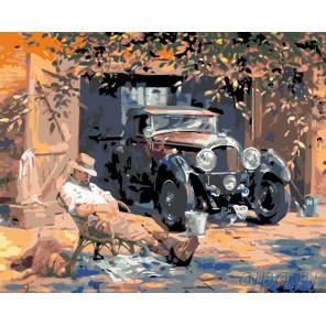 Раскладка Любимое авто Раскраска по номерам на холсте Живопись по номерам KTMK-46378