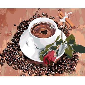 Утро возлюбленной Раскраска по номерам на холсте Живопись по номерам KTMK-001142