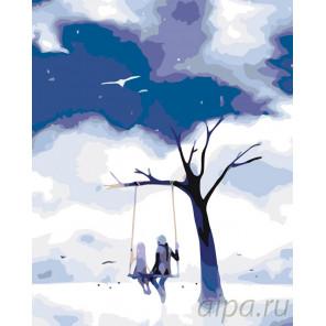 Крылатые качели Раскраска по номерам на холсте Живопись по номерам KTMK-90282