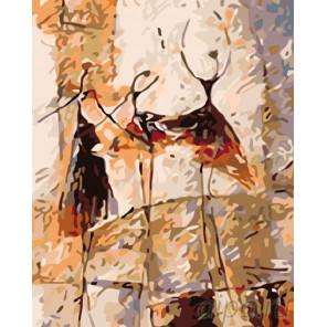 Раскладка Танец граций Раскраска по номерам на холсте Живопись по номерам KTMK-63908-1