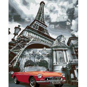Сны о Париже Раскраска по номерам на холсте Живопись по номерам KTMK-97600