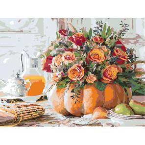 Необычная ваза Раскраска по номерам на холсте Живопись по номерам Z-ZSPB101100165