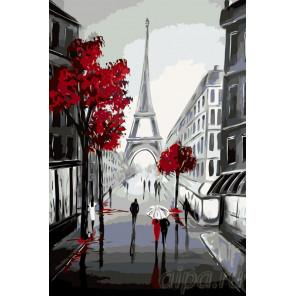 Стройность Парижа Раскраска по номерам на холсте Живопись по номерам RO80