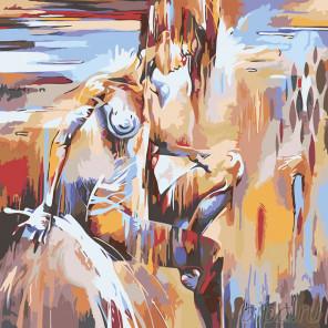 Артемида Раскраска картина по номерам на холсте PA143