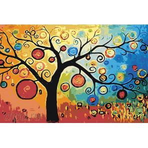 Дерево богатства Раскраска по номерам на холсте Живопись по номерам RA281