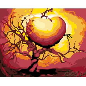 Дерево любви Раскраска по номерам на холсте Живопись по номерам KTMK-143543