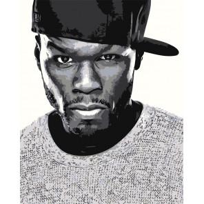 50 Cent Раскраска картина по номерам на холсте Z-AB94
