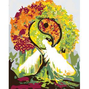 Магическое дерево Раскраска картина по номерам на холсте KTMK-249211