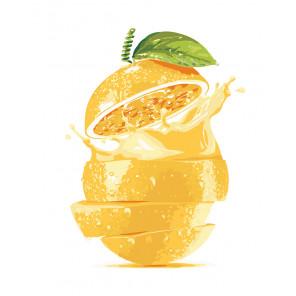 Апельсиновый сок Раскраска по номерам на холсте Живопись по номерам KTMK-43458