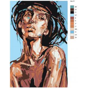 Макет Умиротворение Раскраска картина по номерам на холсте PA177