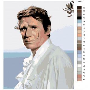 Макет Герцог побережья Раскраска картина по номерам на холсте KTMK-388823