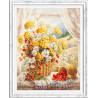 Пример в рамке Медовый аромат Набор для вышивания Чудесная игла 100-181