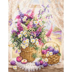 Летний аромат Набор для вышивания Чудесная игла 100-182