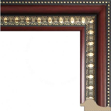 Renaissance (темно коричневый) Рамка багетная для картины на подрамнике и на картоне