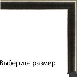 Выберите размер Modern черный Рамка для картины на картоне N144