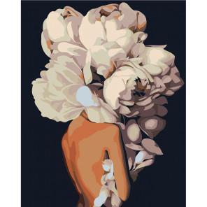 Макет Скромный букет Раскраска картина по номерам на холсте Z-AB194-80x100