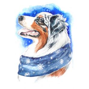 Зимний пёс LC014