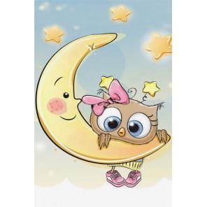 Малышка на луне LC015