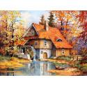 Дом с водяной мельницей LE094
