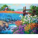Цветочное поле LG172