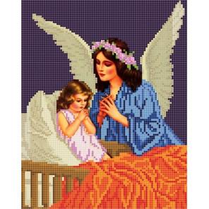 Ангел Ткань с рисунком Божья коровка 0039