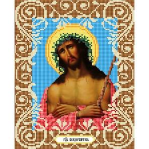Иисус в терновом венце Ткань с рисунком Божья коровка 0035