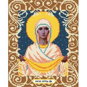 Богородица Покрова Ткань с рисунком Божья коровка 0037