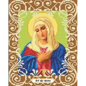 Богородица Умиление Ткань с рисунком Божья коровка 0038
