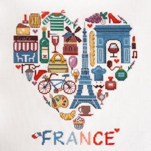 Франция Набор для вышивания Марья Искусница
