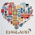 Англия Набор для вышивания Марья Искусница