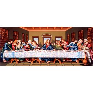Тайная вечеря Канва жесткая с рисунком для вышивки Gobelin L