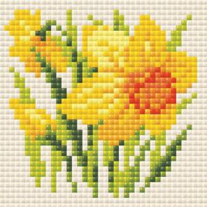 Нарцисс Алмазная вышивка мозаика Риолис АМ0032