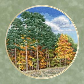 Осенний лес Набор для вышивания Золотое Руно ВМ-032