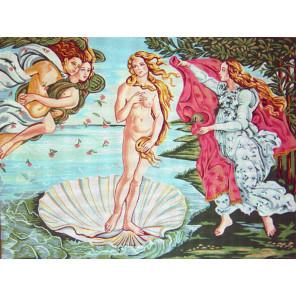 Рождение Венеры Канва жесткая с рисунком для вышивки Gobelin L