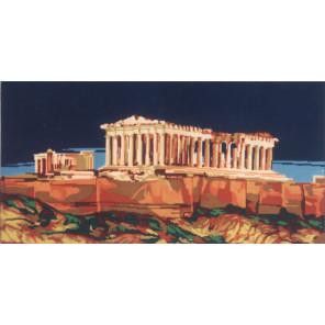 Акрополь Канва жесткая с рисунком для вышивки Gobelin L