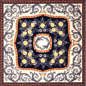 Панно с орнаментом Канва жесткая с рисунком для вышивки Gobelin L