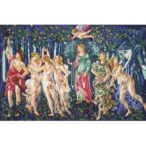 Весна Канва жесткая с рисунком для вышивки Gobelin L